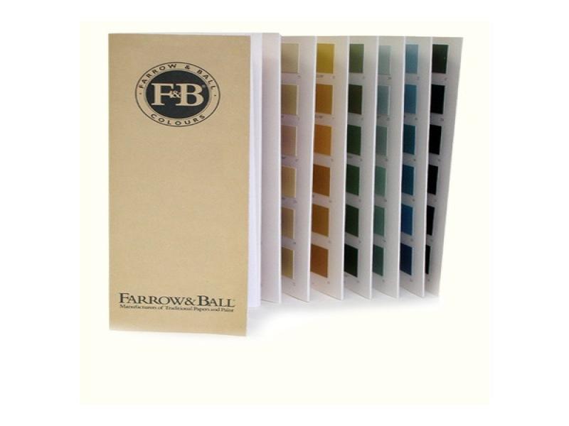 Kleurenkaarten f b kleurkaart - Kleurkaart kleur interieur verf ...